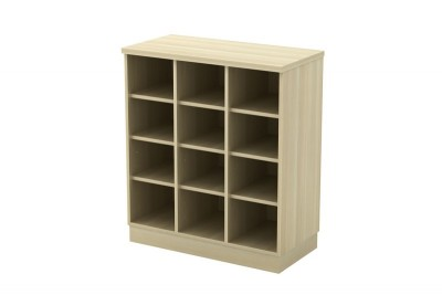 Pigeon Hole Low Cabinet