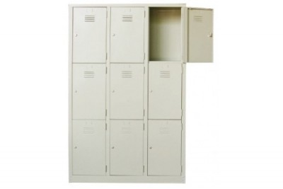 9 Compartment Steel Locker (Multiple Locker)