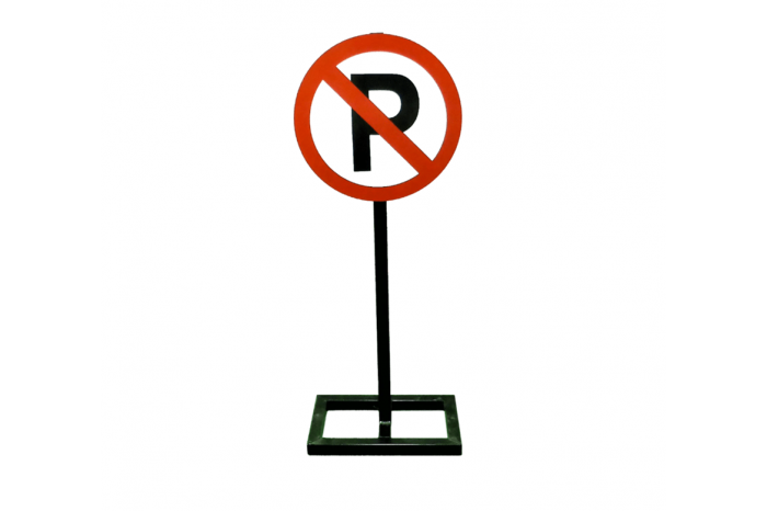 No Parking Stand