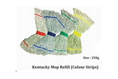 Kentucky Mop Refill (Colour Strips)