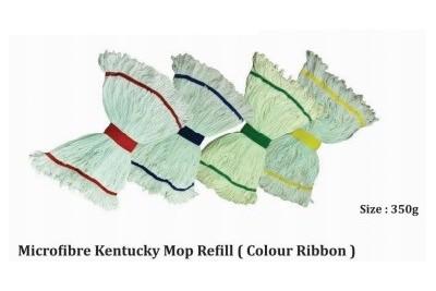 Microfibre Kentucky Mop Refill (Colour Ribbon)