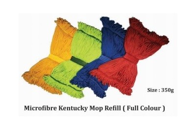 Microfibre Kentucky Mop Refill (Full Colour)