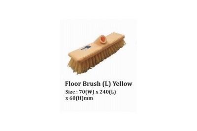 Floor Brush (L) Yellow