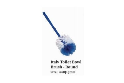 Italy Toilet Bowl Brush - Round