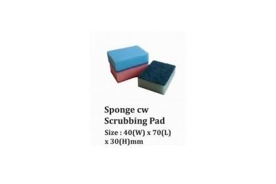 Sponge cw Scrubbing Pad