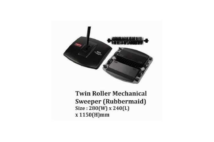 Twin Roller Mechanical Sweeper (Rubbermaid)
