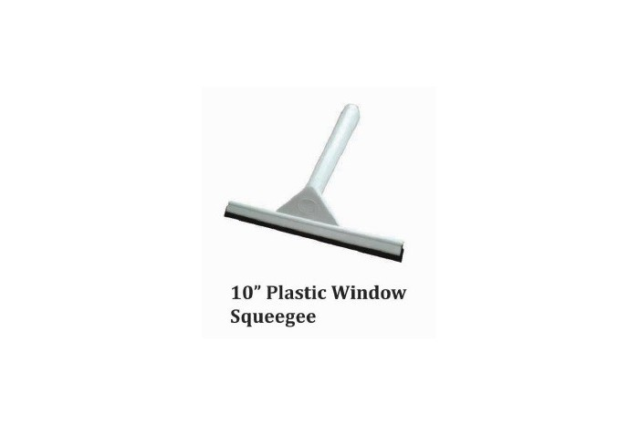 "10"" Plastic Window Squeegee"