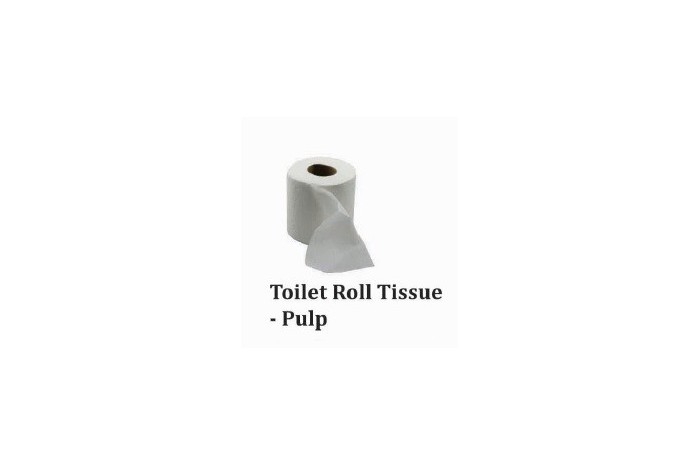 Toilet Roll Tissue - Pulp