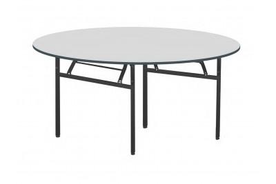 Foldable Round Table (N) Metal Leg