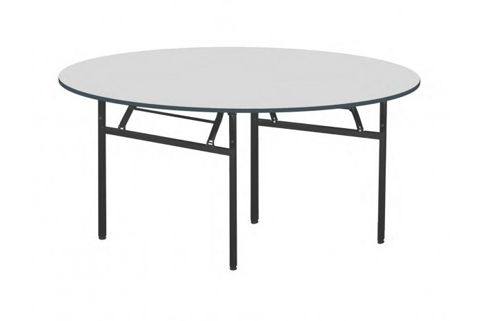 Foldable Round Table (N) Metal Leg