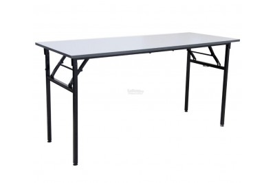Foldable Rectangular Table (N) Metal Leg