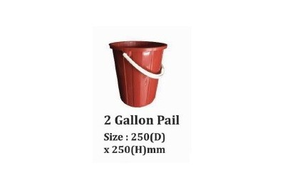 2 Gallon Pail