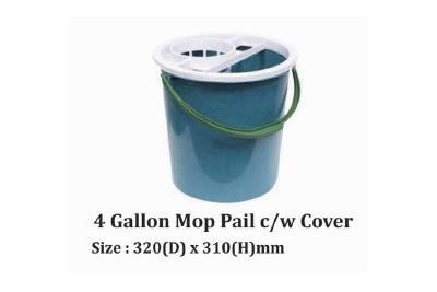 4 Gallon Mop Pail c/w Cover