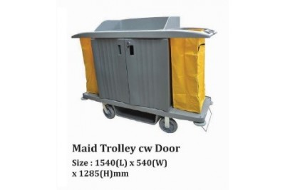 Maid Trolley cw Door