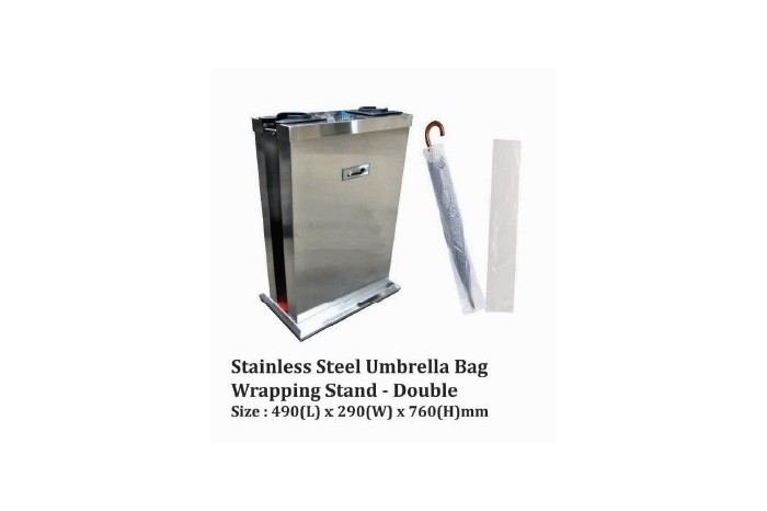 Stainless Steel Umbrella Bag Wrapping Bag - Double
