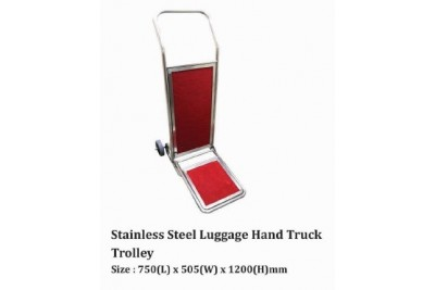 Stainless Steel Luggage Hand Truck Trolley