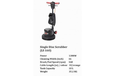 Single Disc Scrubber (LS 160)