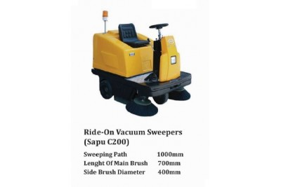 Ride-On Vacuum Sweepers (Sapu C200)
