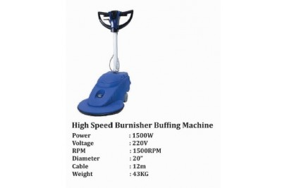 High Speed Burnisher Buffing Machine