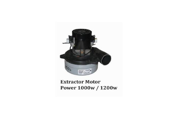 Extractor Motor Power 1000 W / 1200W