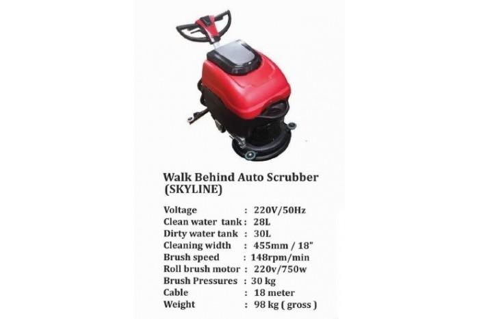 Walk Behind Auto Scrubber (SKYLINE)