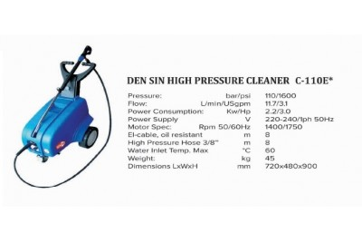 High Pressure Cleaner C-110E