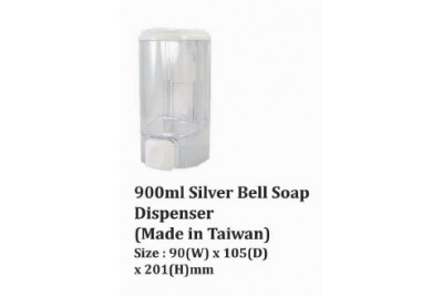 Silver Bell Soap Dispenser