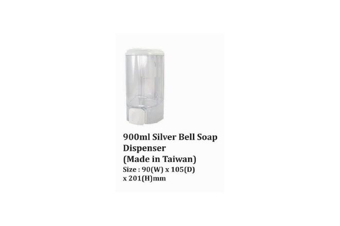 Silver Bell Soap Dispenser