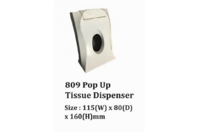 809 Pop Up Tissue Dispenser