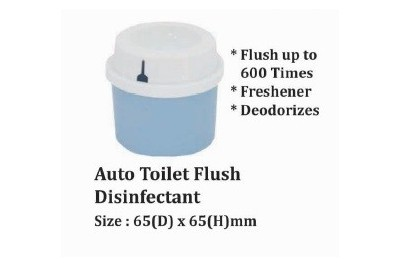Auto Toilet Flush Disinfectant