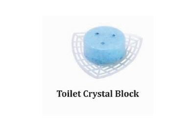 Toilet Crystal Block