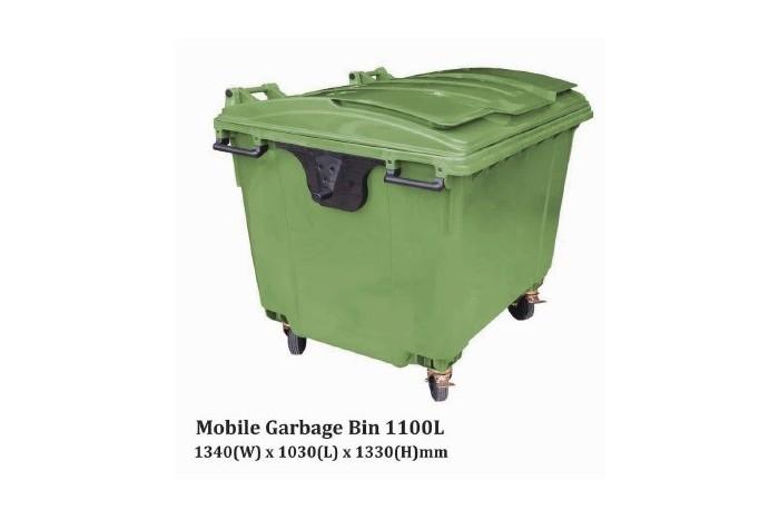 Mobile Garbage Bin 1100L