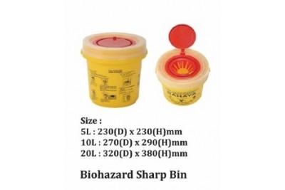 Biohazard Sharp Bin