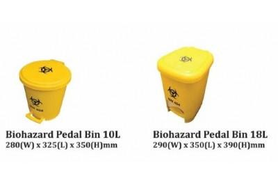 Biohazard Pedal Bin