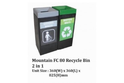 Mountain FC 80 Recycle Bin 2 in 1