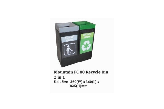 Mountain FC 80 Recycle Bin 2 in 1