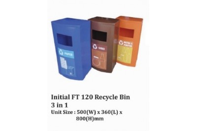 Initial FT 120 Recycle Bin 3 in 1