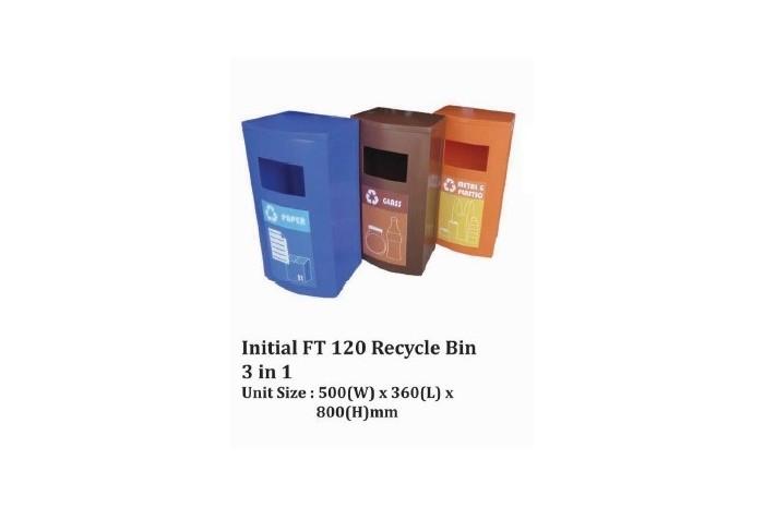 Initial FT 120 Recycle Bin 3 in 1