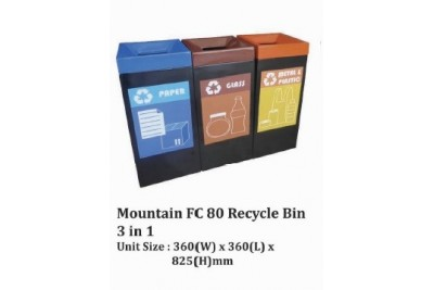Mountain FC 80 Recycle Bin 3 in 1