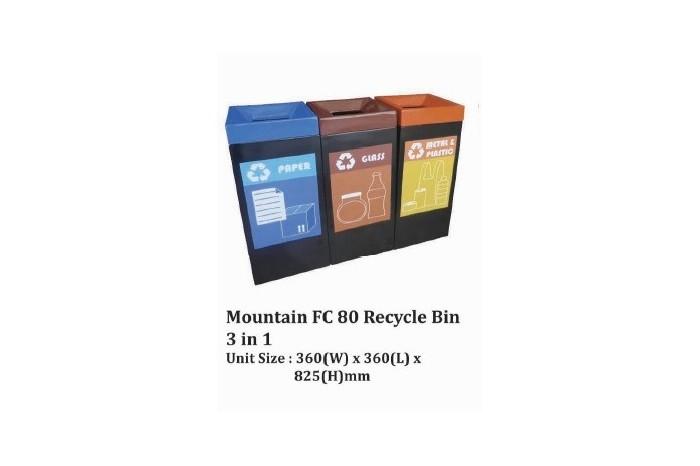 Mountain FC 80 Recycle Bin 3 in 1