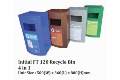 Initial FT 120 Recycle Bin 4 in 1