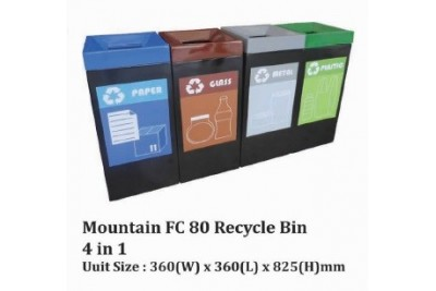 Mountain FC 80 Recycle Bin 4 in 1