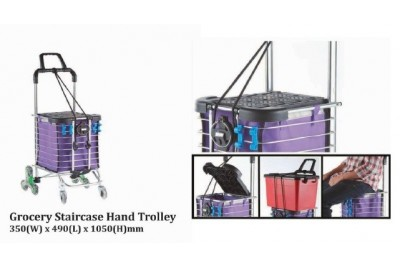 Grocery Staircase Hand Trolley
