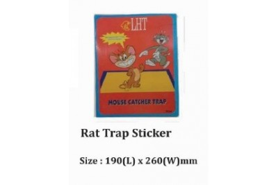 Rat Trap Sticker