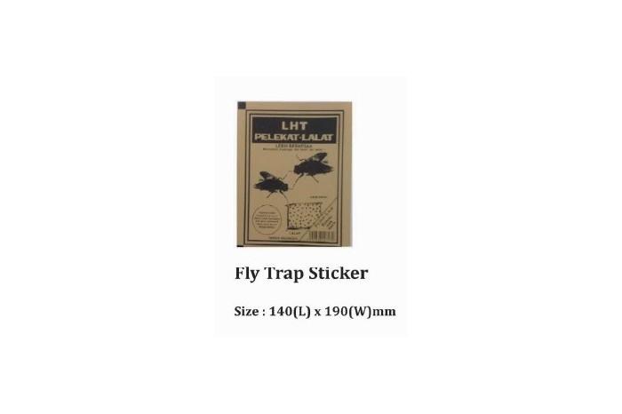 Fly Trap Sticker