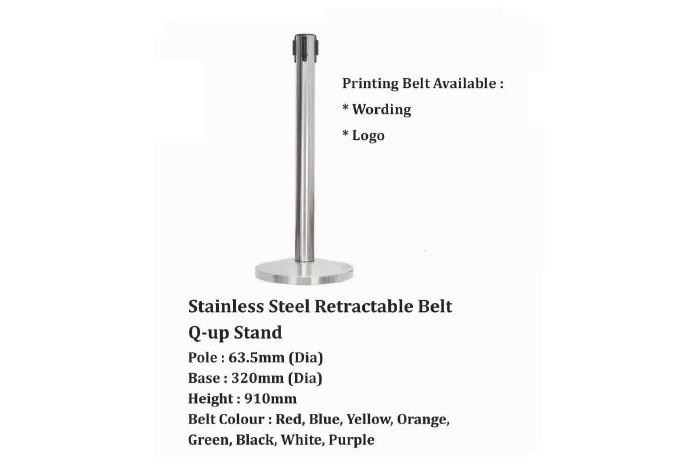 Stainless Steel Retractable Belt