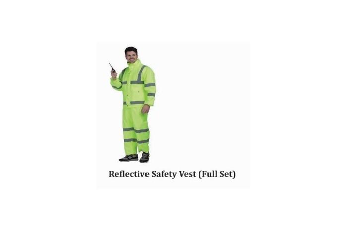Reflective Safety Vest (Full Set)