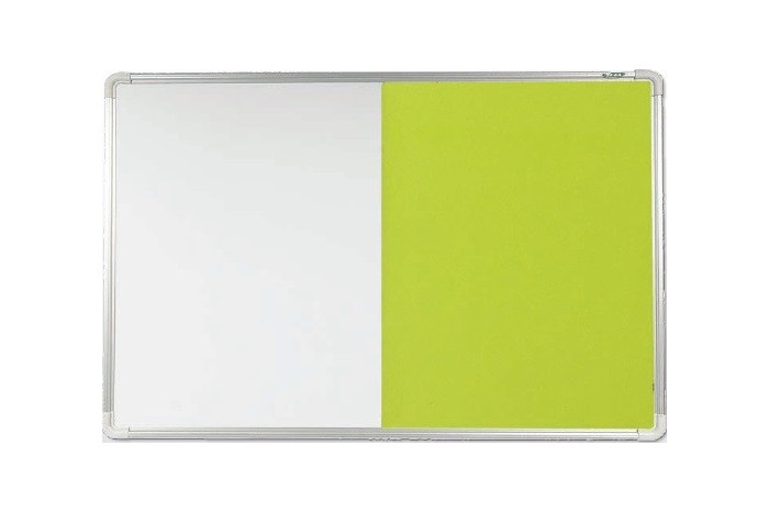 Aluminium Frame Dual Notice Board