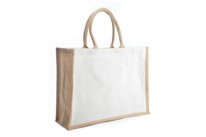 JR237 – White Body / Carrier Jute Bag