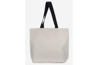 CR371 – 12oz Canvas Bag / Black Colour Handle
